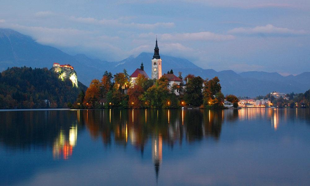 El maravilloso Lago de Bled, uno de los puntos mágicos de Eslovenia