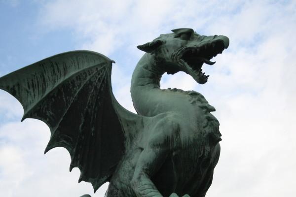 El dragón, símbolo de Liubliana