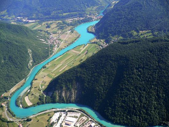 Valle y Río Soča (Isonzo)