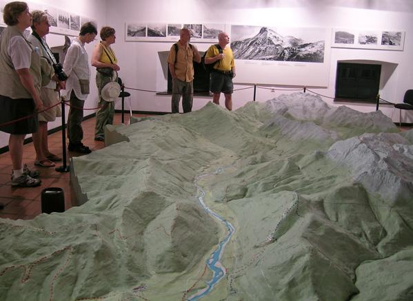 Visita del museo de Kobarid