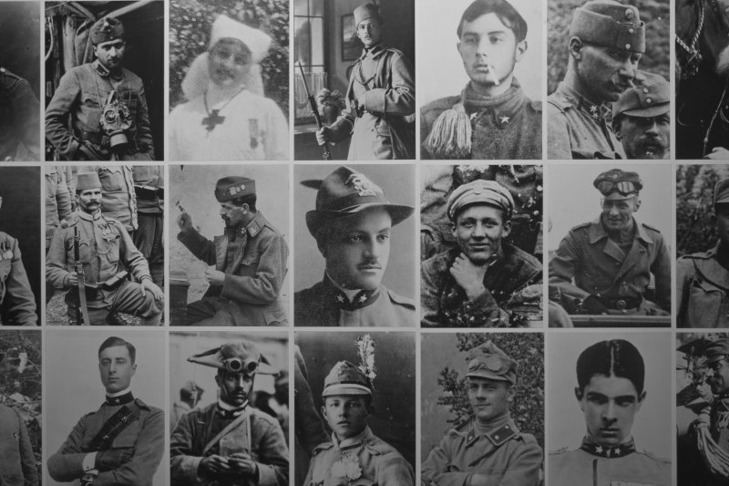 Fotos de combatientes en las batallas de la 1ªGuerra Mundial