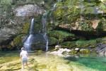 Cascadas en Eslovenia