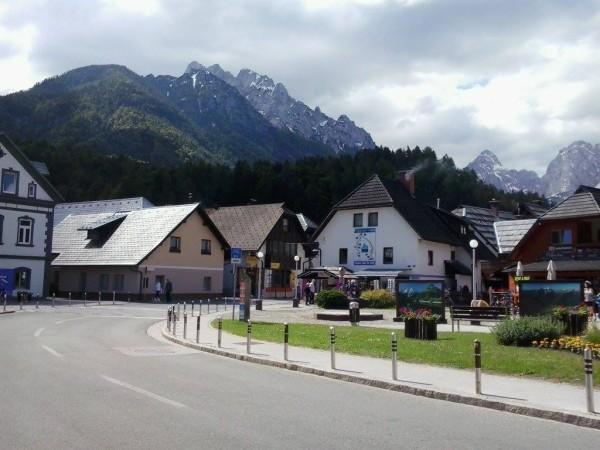 Casas alpinas de Kranjska Gora