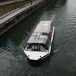 Paseo en barco en Ljubljana