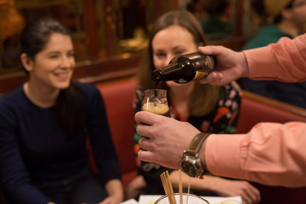 Cata de cerveza artesana en Liubliana